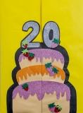 Tarjetas Regalo Cumpleaños Colegio - 20 años